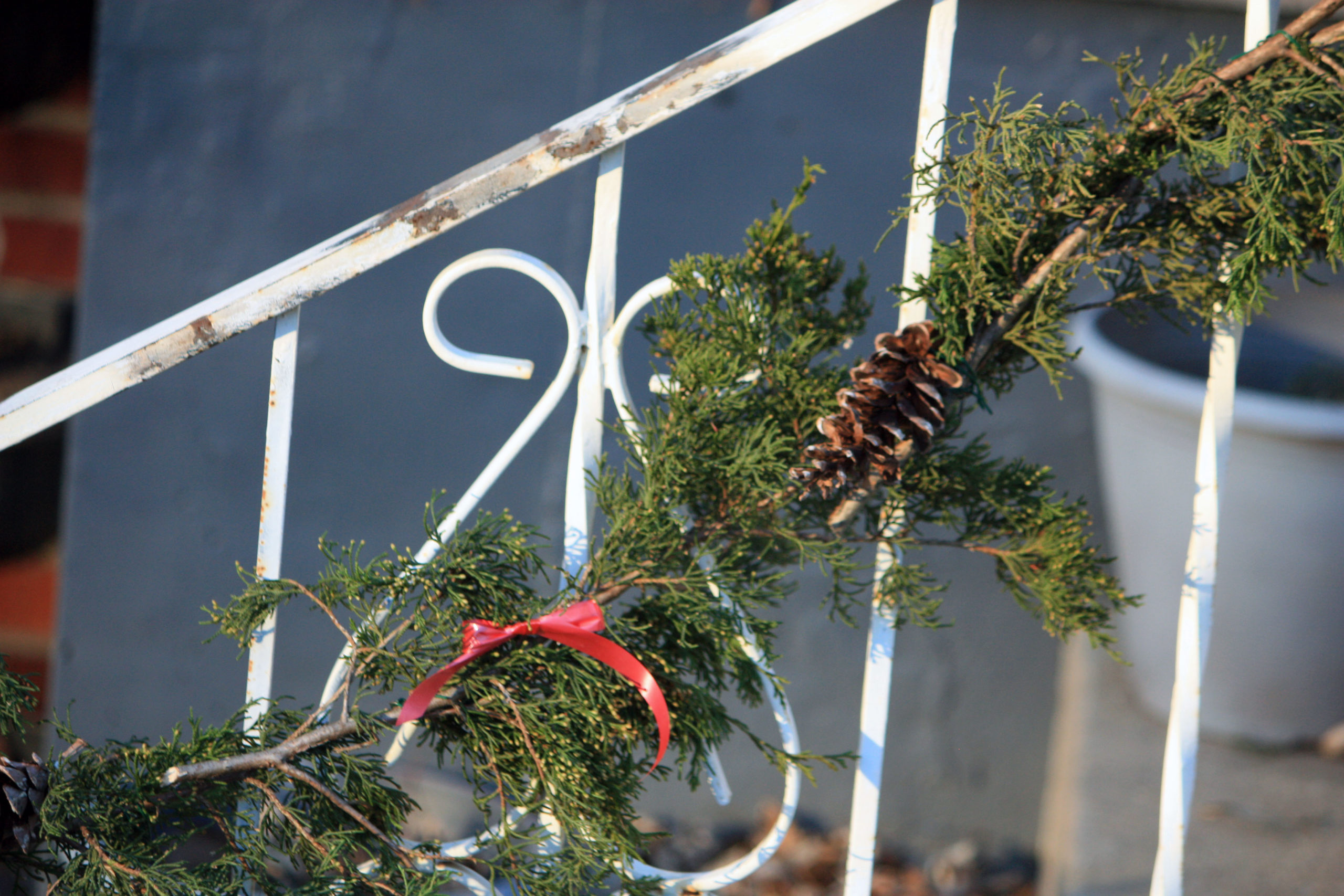 Almost Free Christmas Garland