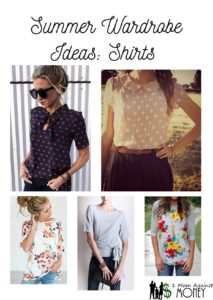 Summer Wardrobe: Swimsuit and Shirts
