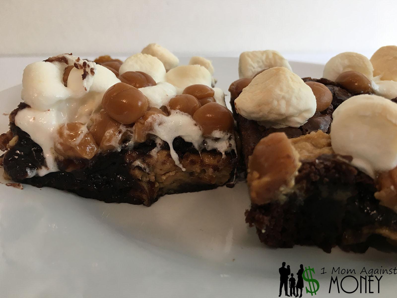Caramel Peanut Butter Brownies