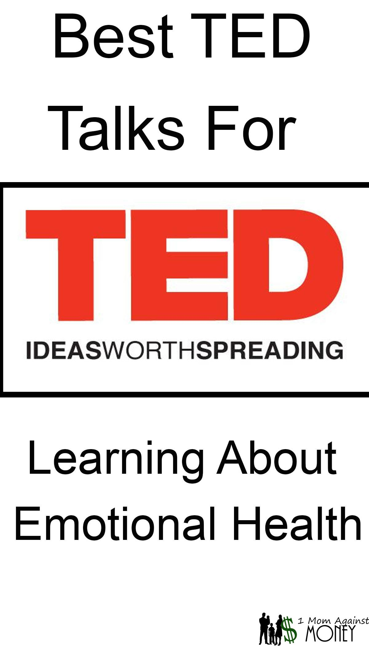 Best TED Talks for Learning about Emotional Health
