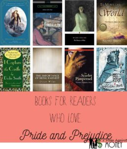 Books to Read if you Like Pride and Prejudice by Jane Austen