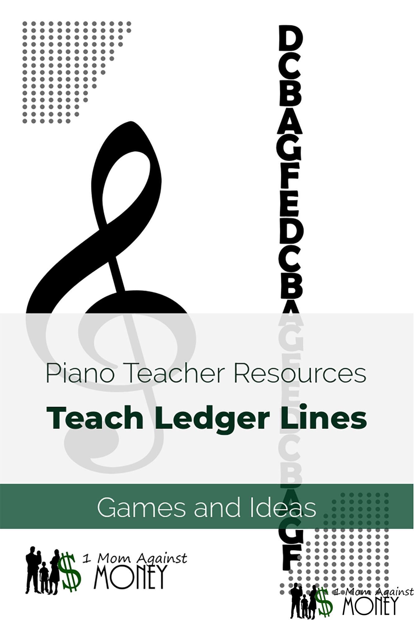 Teaching Ledger Lines In Music