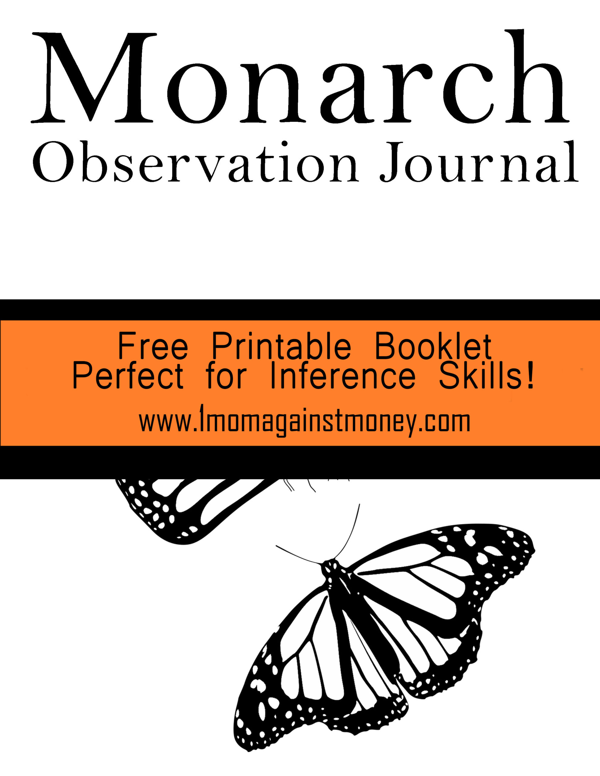 Free Monarch Observation Journal