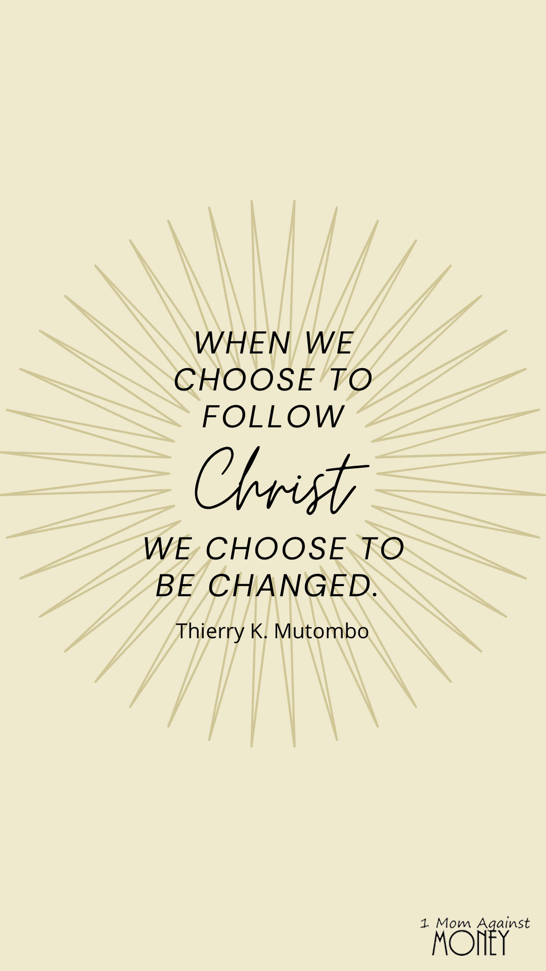 LDS General Conference Choose Quote