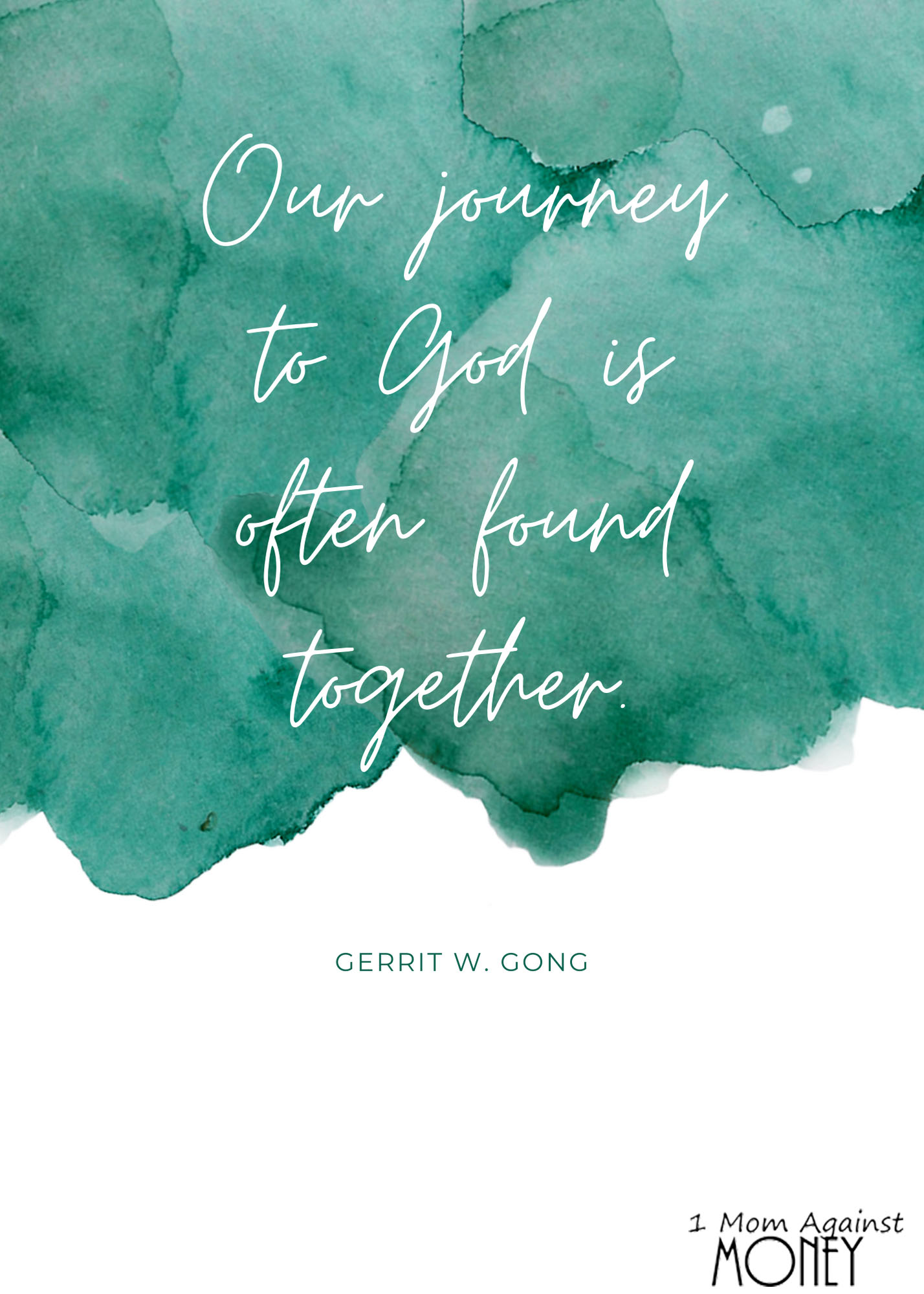 Journey Together General Conference Quote